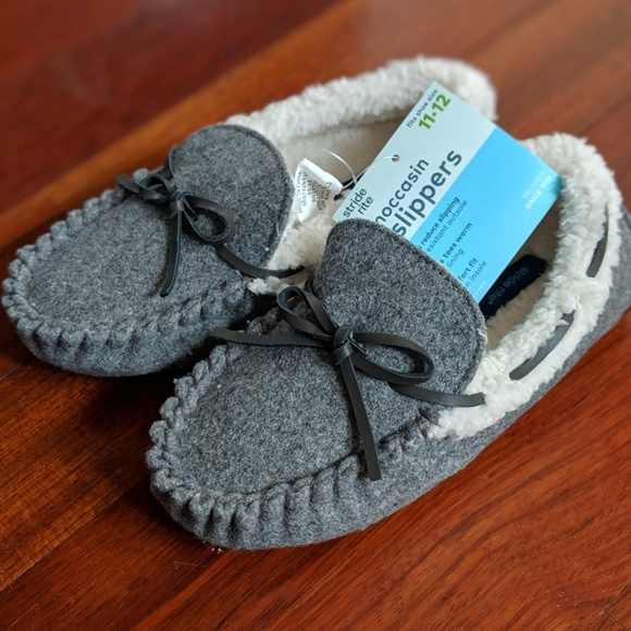 1224a6d4949 Stride Rite Toddler LittleKid Moccasin
